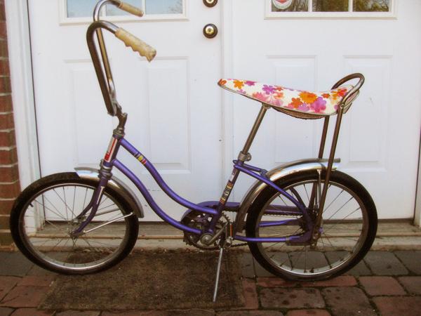 vintage banana bike